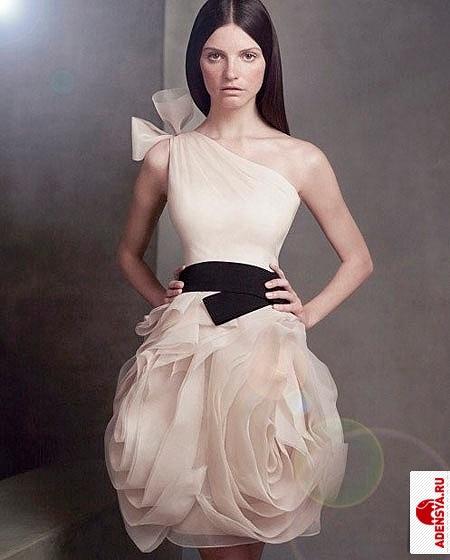 Вера вонг коротких свадебных платьев